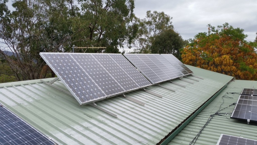Old system Solar Panels