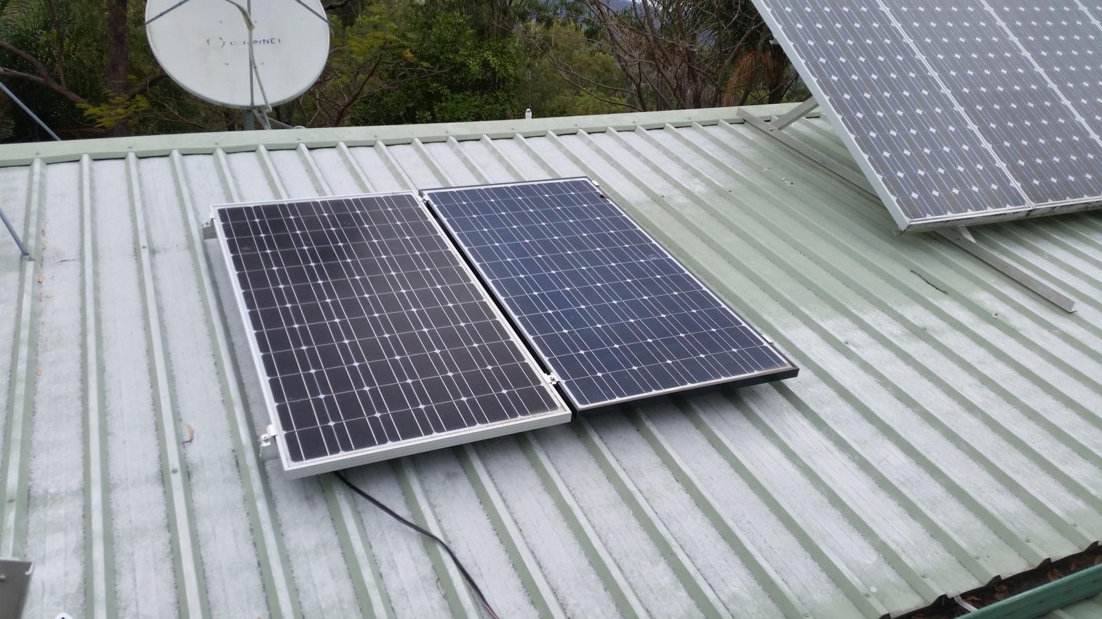 Solar Panel Angle Living Off The Edge