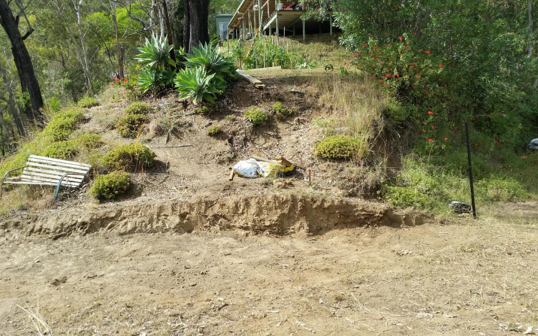 Excavating the Bottom Steps – 27th April 2016