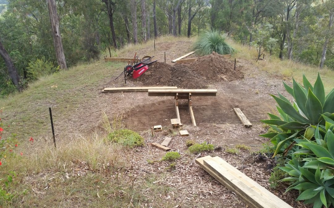 Building the Bottom Steps – 2nd May 2016