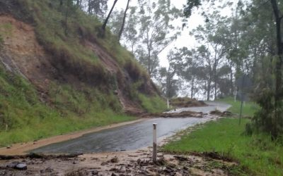 Ex Tropical Cyclone Debbie arrives with a Bang! – Part II – 30th March 2017