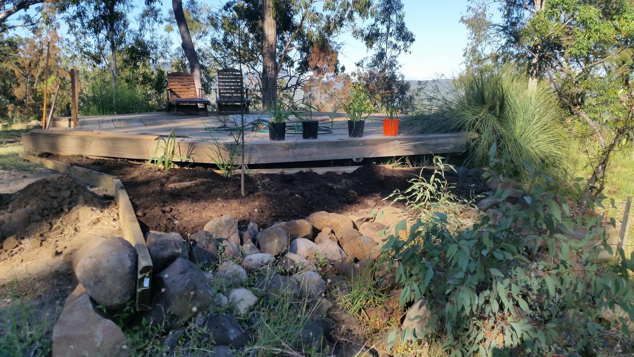 Fire Deck - North Garden - North View