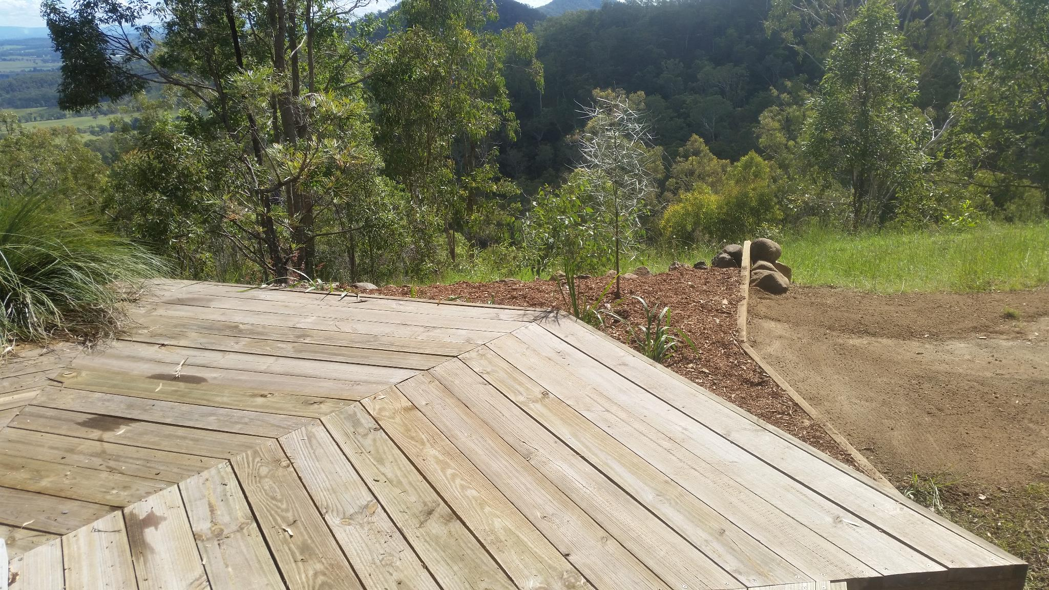 Fire Deck - North Garden - Finished