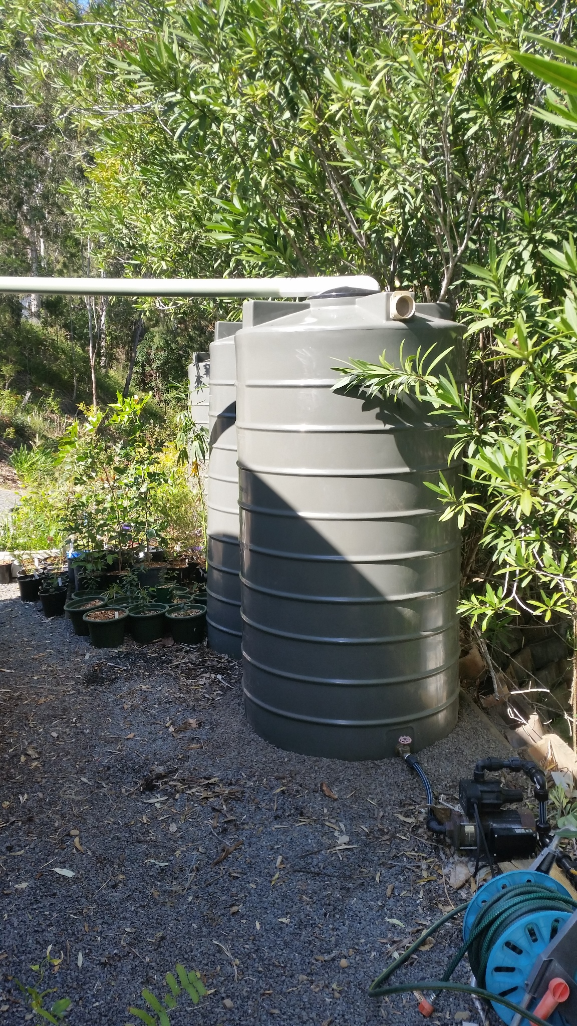 Shed Water Tanks