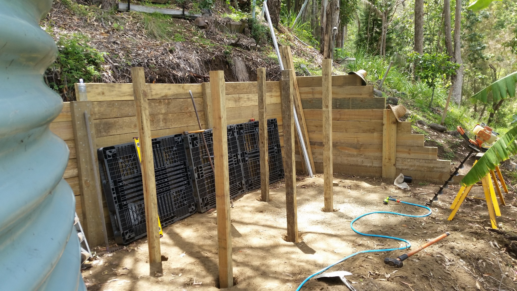 Compost Bins - Construction