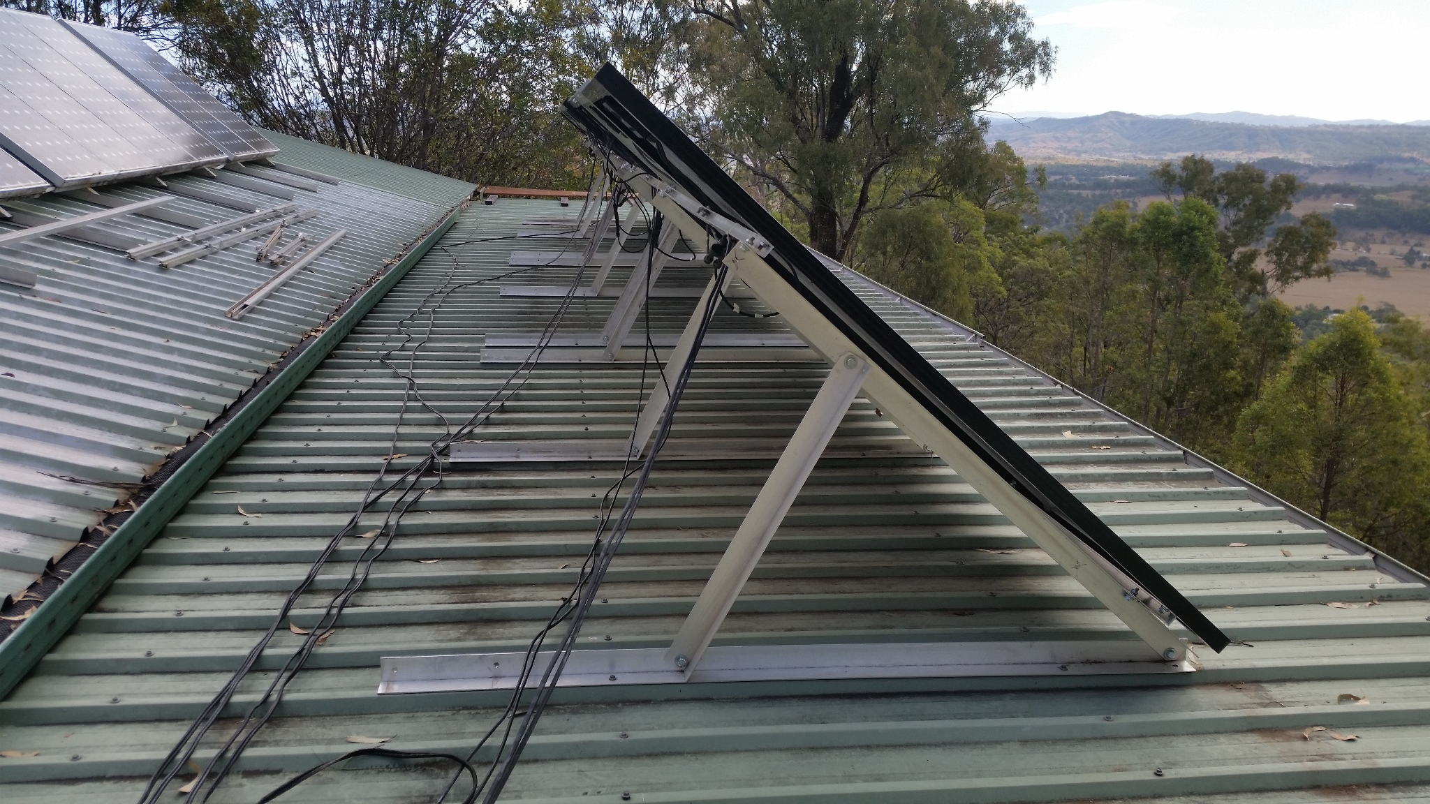 Solar Panel Adjustable Rack