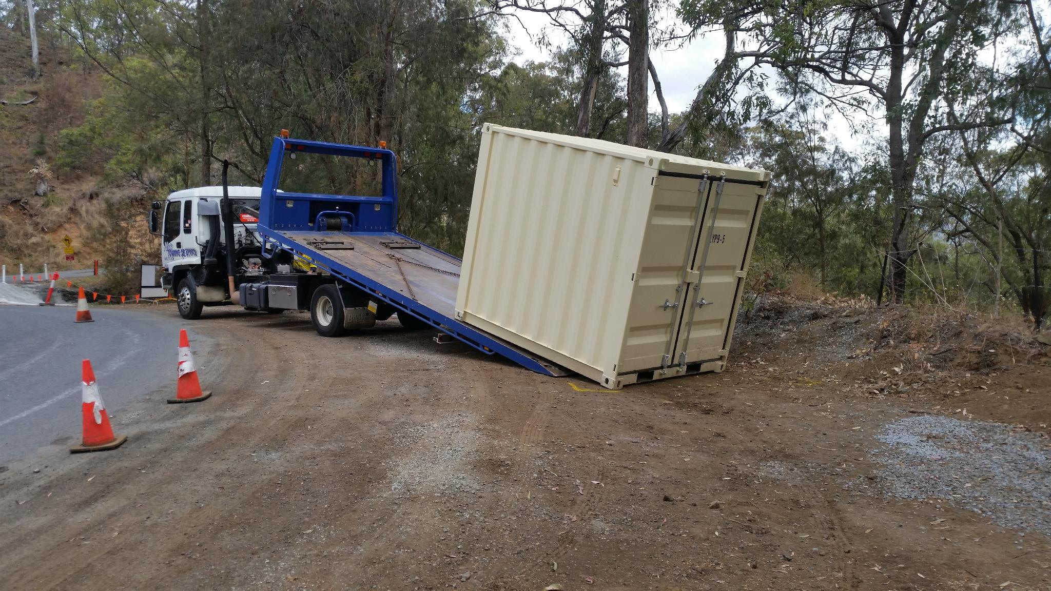 New Shipping Container arrives