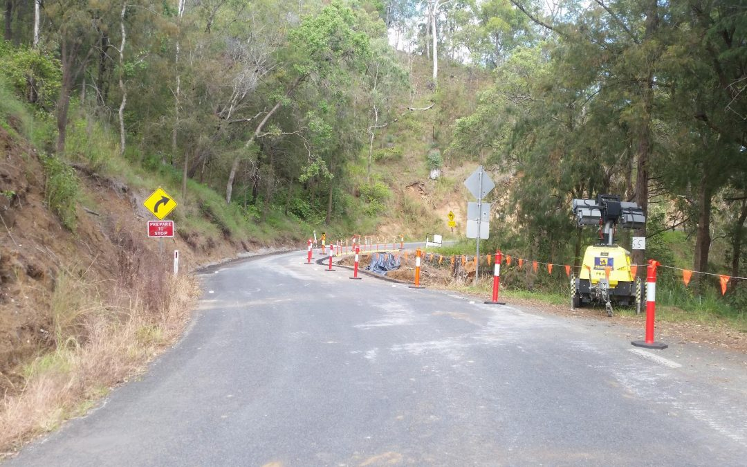 Road Work start at Site 55 – 5th April 2018