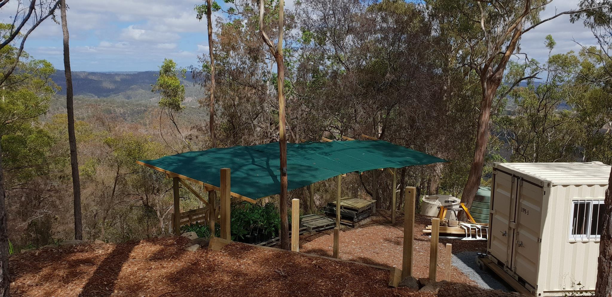 Nursery - Shade Cloth