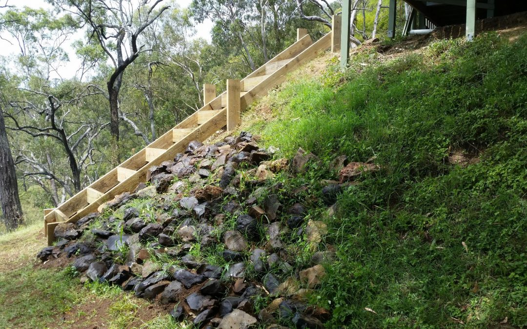 Almost finished the Stairs – 2nd January 2016