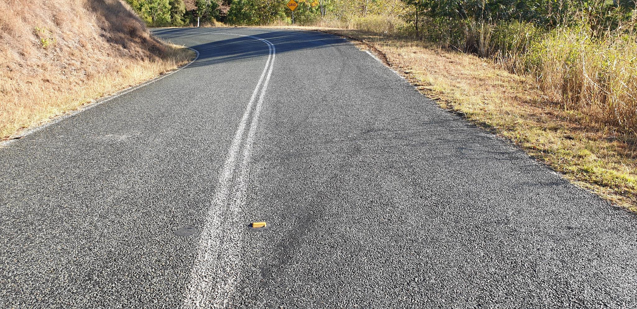 Skid Marks on Lamington National Park Rd