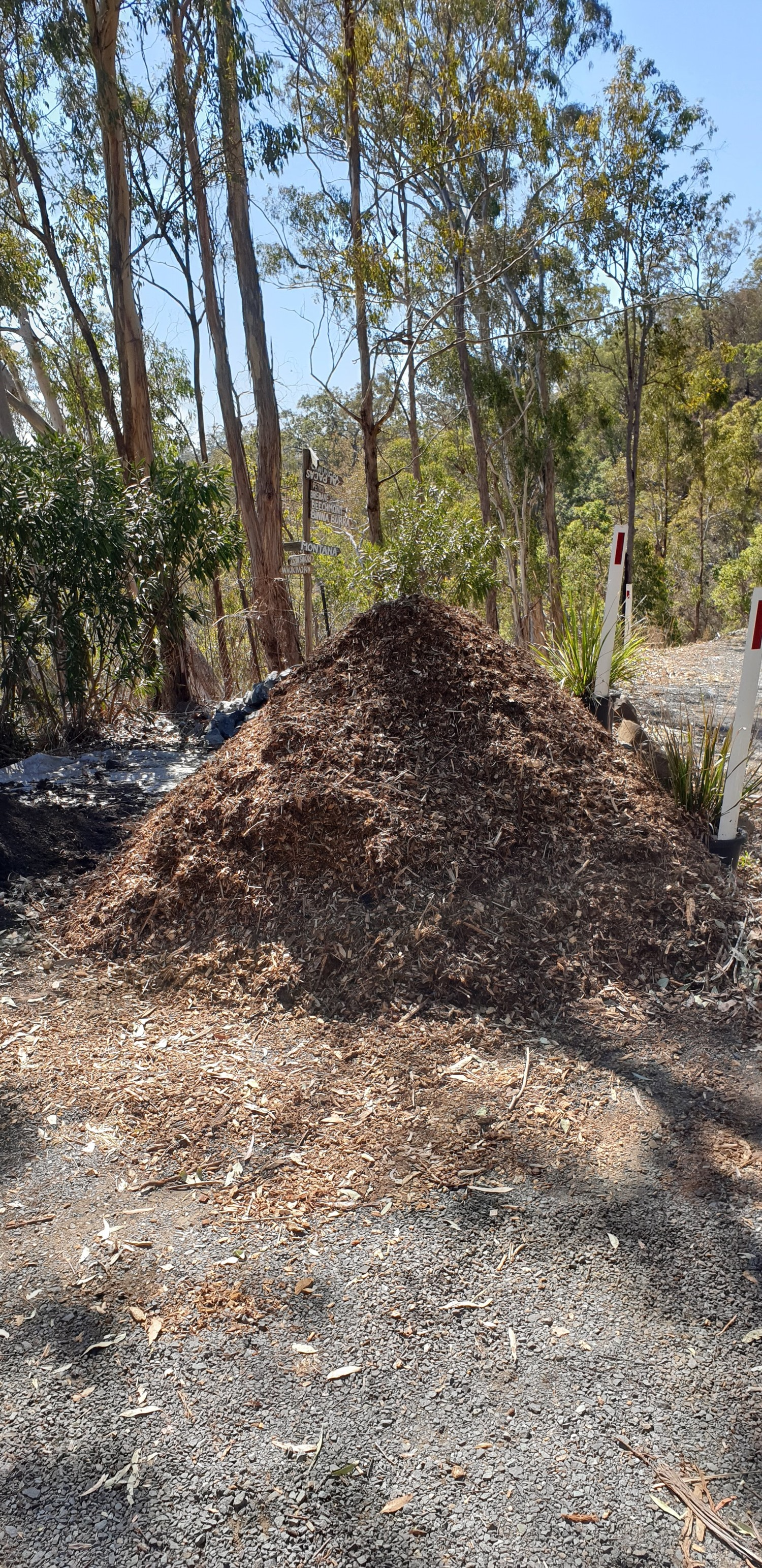 The new Mulch Pile