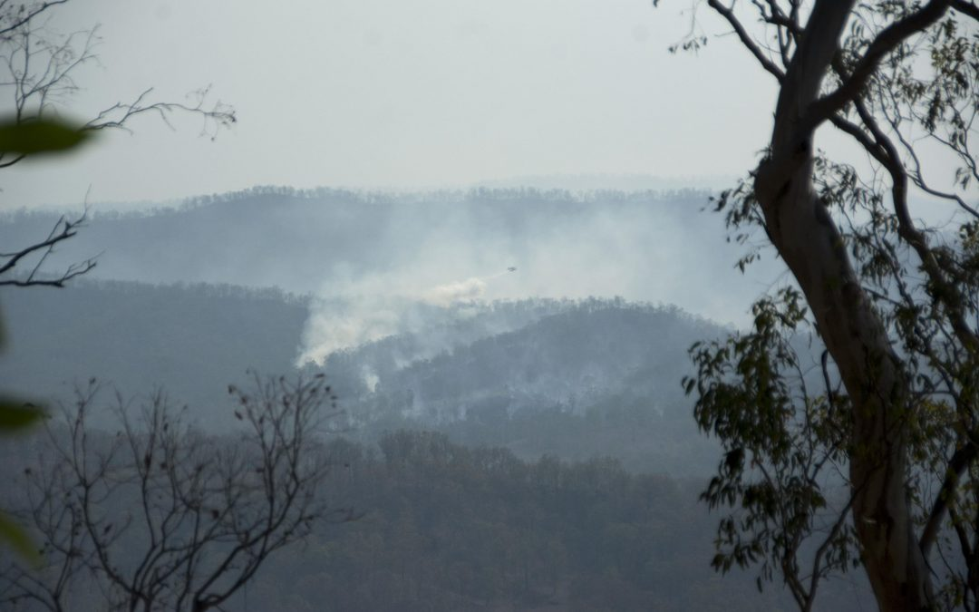 Cainbable Fire starts behind us -13th December 2019