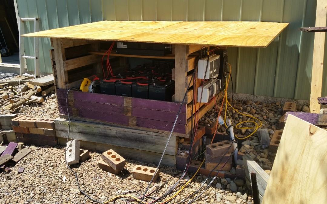 Building the Solar Box – 10th October 2015
