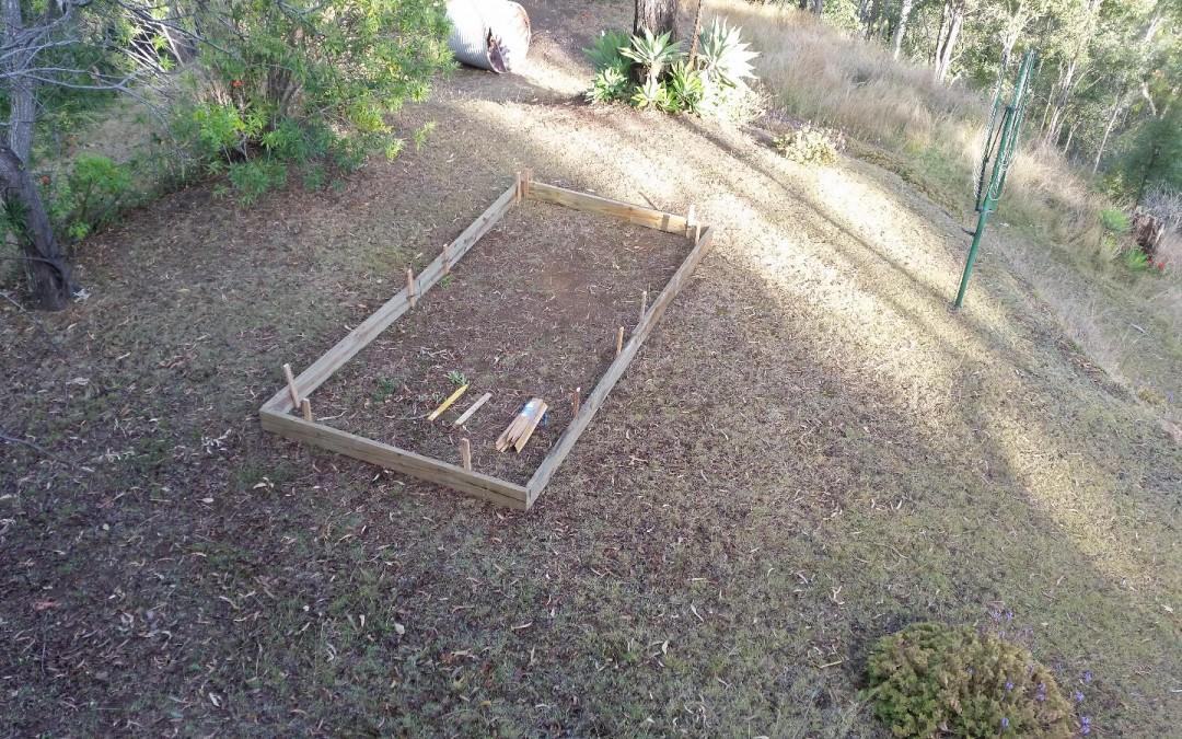 Starting the Vege Garden – 19th September 2015
