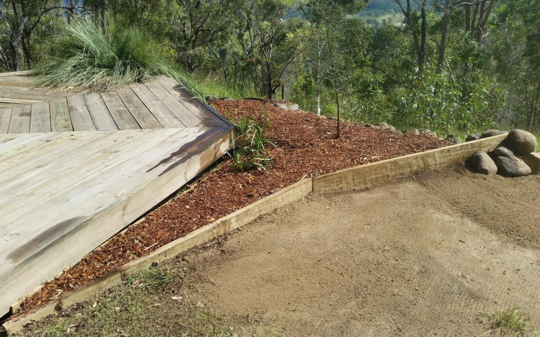 Creating the Fire Deck North Garden – 24th April 2017