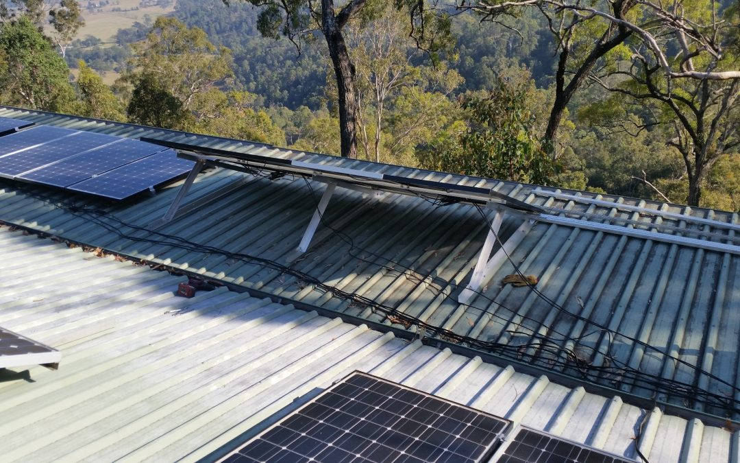 Solar Panel Adjustment Time – 4th September 2017