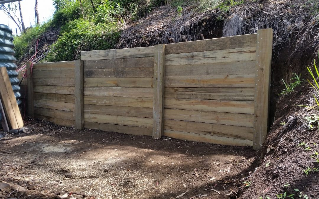 Still not quite finished – Compost Wall – 20th November 2017