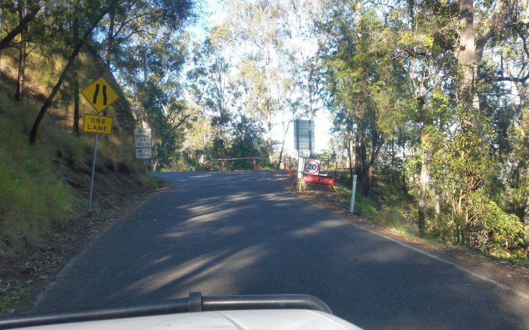 Serious Road Works get started – 1st October 2017