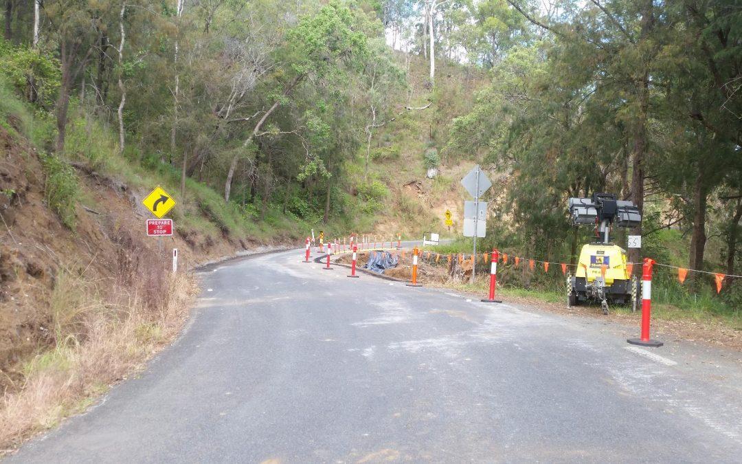 Road Work start at Site 55 – 5th April 2018